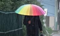 İnegöl'de Yağmur Etkili Oldu