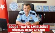 Bölge Trafik Amirliğine Gökhan Genç Atandı