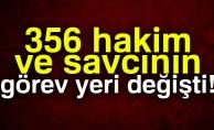 Hakim ve Savcılar Kurulu kararnamesiyle 356 hakim ve savcının görev yeri değişti