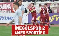 İnegölspor: 2 - Amed Sportif : 0