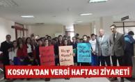 Kosova'dan vergi haftası ziyareti