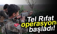 TSK ve ÖSO'dan Tel Rıfat'ta 2 köye operasyon