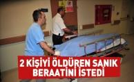 2 Kişiyi Öldüren Sanık Beraatini İstedi