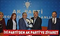 İyi Parti'den AK Parti'ye Ziyaret