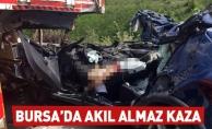 Bursada akıl almaz kaza