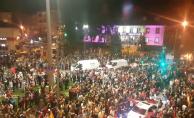 İnegöl'de AK Partililerden seçim kutlaması