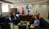 Taban'dan Halk Eğitim Merkezi Müdürüne Ziyaret