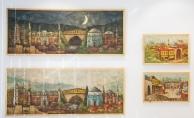 Tarih şehri Bursa tuvallerde