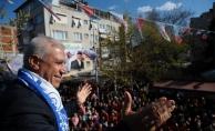 """Bozbey Mudanya'da konuştu: """"Bursa mavisiyle tekrar buluşacak"""""""