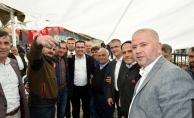 Başkan Kanar'a mahalle hayırlarında büyük ilgi
