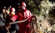 Bursa'da mağarada mahsur kalan 7 defineciyi kurtarmak için seferberlik