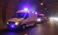 TIR'a arkadan çarpan aracın sürücüsü öldü