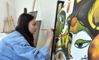 OSMEK'te bilgiler sanat eserine dönüşüyor
