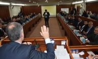 İnegöl'de yılın ilk meclis toplantısı yapıldı