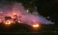 İnegöl'de iftar vakti orman yangını