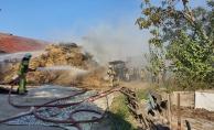 İnegöl'de tavuk çiftliğinde yangın