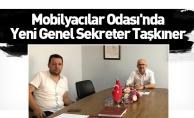 Mobilyacılar Odası'nda Yeni Genel Sekreter Taşkıner