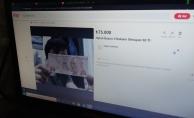 Üniversite öğrencisi hatalı basım 50 TL'yi internette 75 Bin TL'ye Satışa Sundu