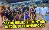 Afyon Belediye Yüntaş: 1- İnegöl Belediyespor: 3