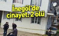İnegöl#039;de cinayet: 2 ölü