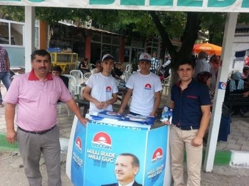 Keleslilerden Erdoğan Standına Büyük İlgi