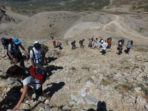 Bursalı Dağcılar 17 Ağustosu Unutmadı