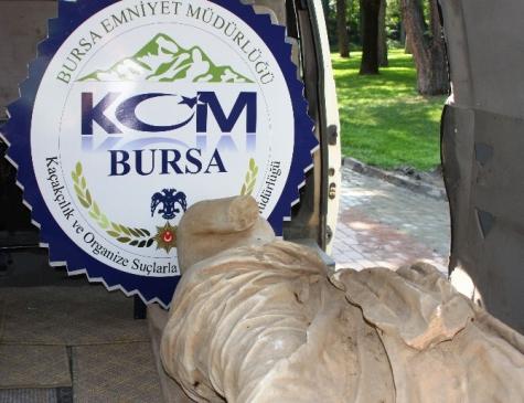 Bursa'da Tarihi Heykel Operasyonu...