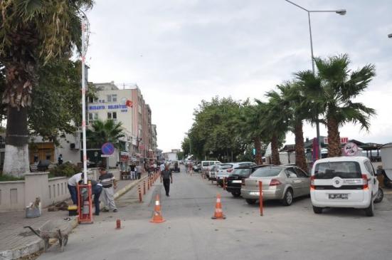 Mudanya'da 12 Eylül Caddesi Trafiğe…