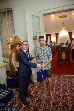 Avrupalı Sporcu Gençler Bursa'da