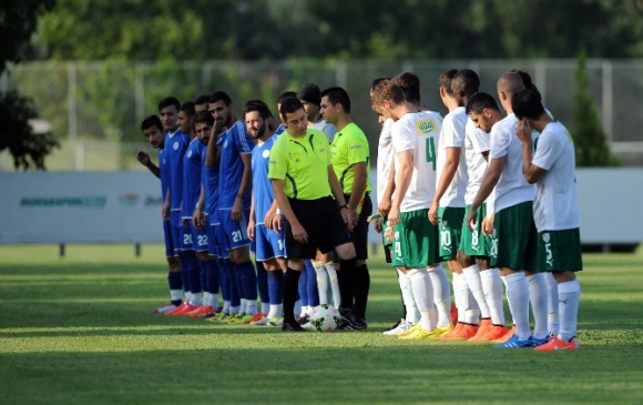 Bursaspor'un Hazırlık Maçında Taraftar…