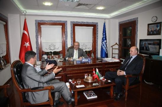 Bulgaristan'dan Bursa'ya Teşekkür Ziyareti