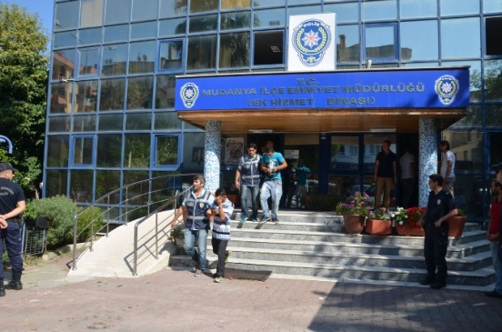 Mudanya'da Uyuşturucu Operasyonu