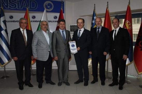 Balkansiad Bursa'ya Ticari Ataşe İstedi
