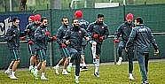 A Milliler Lüksemburg maçı hazırlıklarına
