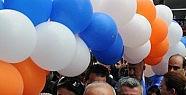 Açılışa Mevlüt Çavuşoğlu da katıldı