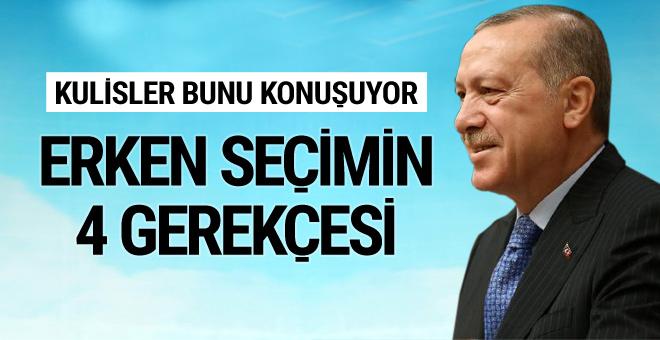 AK Parti'de erken seçimin 4 nedeni!