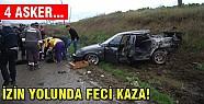 Askerler kaza yaptı!