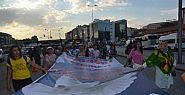 """Başkent'te """"barış"""" Yürüyüşü"""