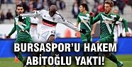 Bursa'yı hakem yıktı!