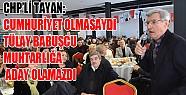 CHP Bursa Milletvekili Turan Tayan sert konuştu