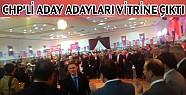 CHP'nin Bursa Milletvekili Aday Adayları İnegöl'de Vitrine Çıktı