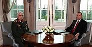 Erdoğan, Genelkurmay Başkanıyla Görüştü