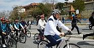 Erdoğan pedal çevirdi