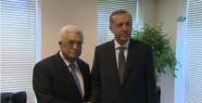 Filistin Devlet Başkanı Abbas Ile Bir...