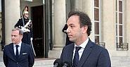 Fransa Cumhurbaşkanı Halid Hoca ile görüştü