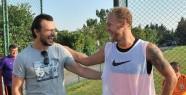 Galatasaray Antrenmanında Sürpriz