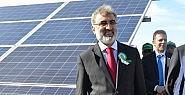 Güneş Enerji Santrali'nin açılışı
