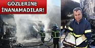 Ham Petrol Yüklü Tanker Yandı, İçindeki Kur'an Yanmadı