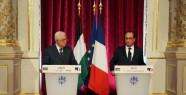 Hollande Abbas'la Görüştü