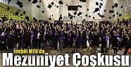 İnegöl MYO'da mezuniyet coşkusu